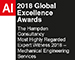 AI - 2018 Global Excellence Award